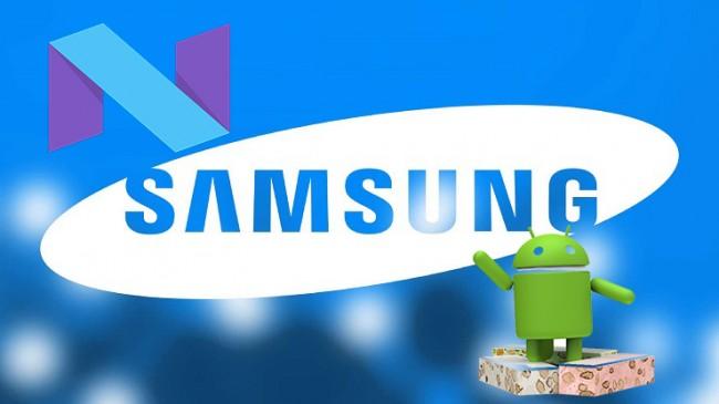 Samsung Şirketinden Android Nougat Sürümü İçin Güncelleme Dalgası