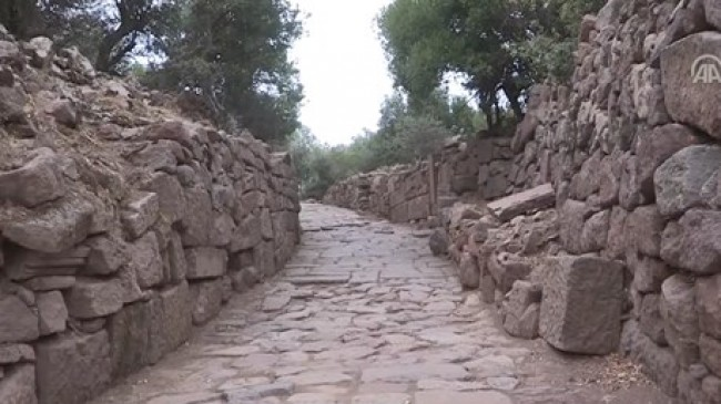 Manisa İlinde 2.000 Senelik Antik Bir Yol Bulundu