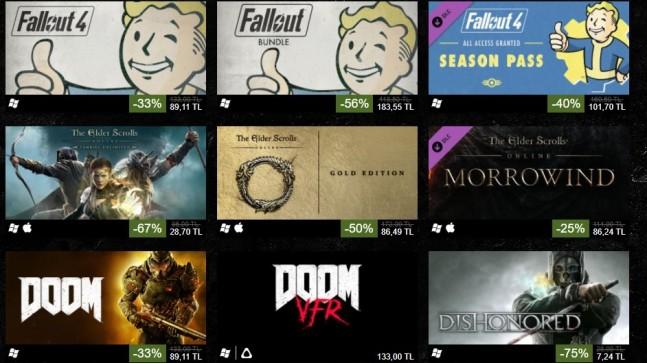 Fallout Oyunuda Dahil Pek Çok Oyunda İndirim Açıklandı