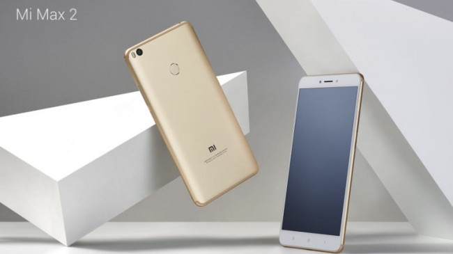 Xiaomi'nin Yeni Kozu Mi Max 2 Geldi!