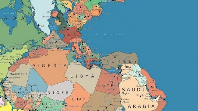 300 Milyon Yıl Önceye Ait Harita Çizildi!