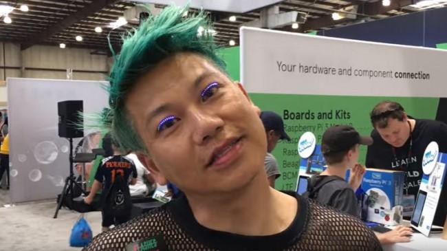 Giyilebilir Teknolojiside LED Kirpik Dönemi!