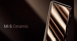 Xiaomi'den Sürpriz! Mi 6 Ceramic Geldi…