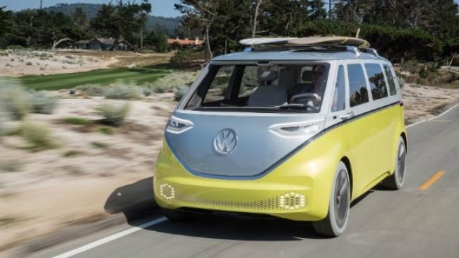 Volkswagen Şirketi Elektrikle Çalışan Mikrobüs Duyurdu